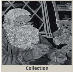 Santa's Workshop Tiling Scene