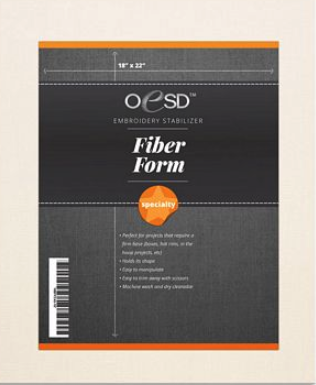 Fiber Form Embroidery Stabilizer 18 x 22