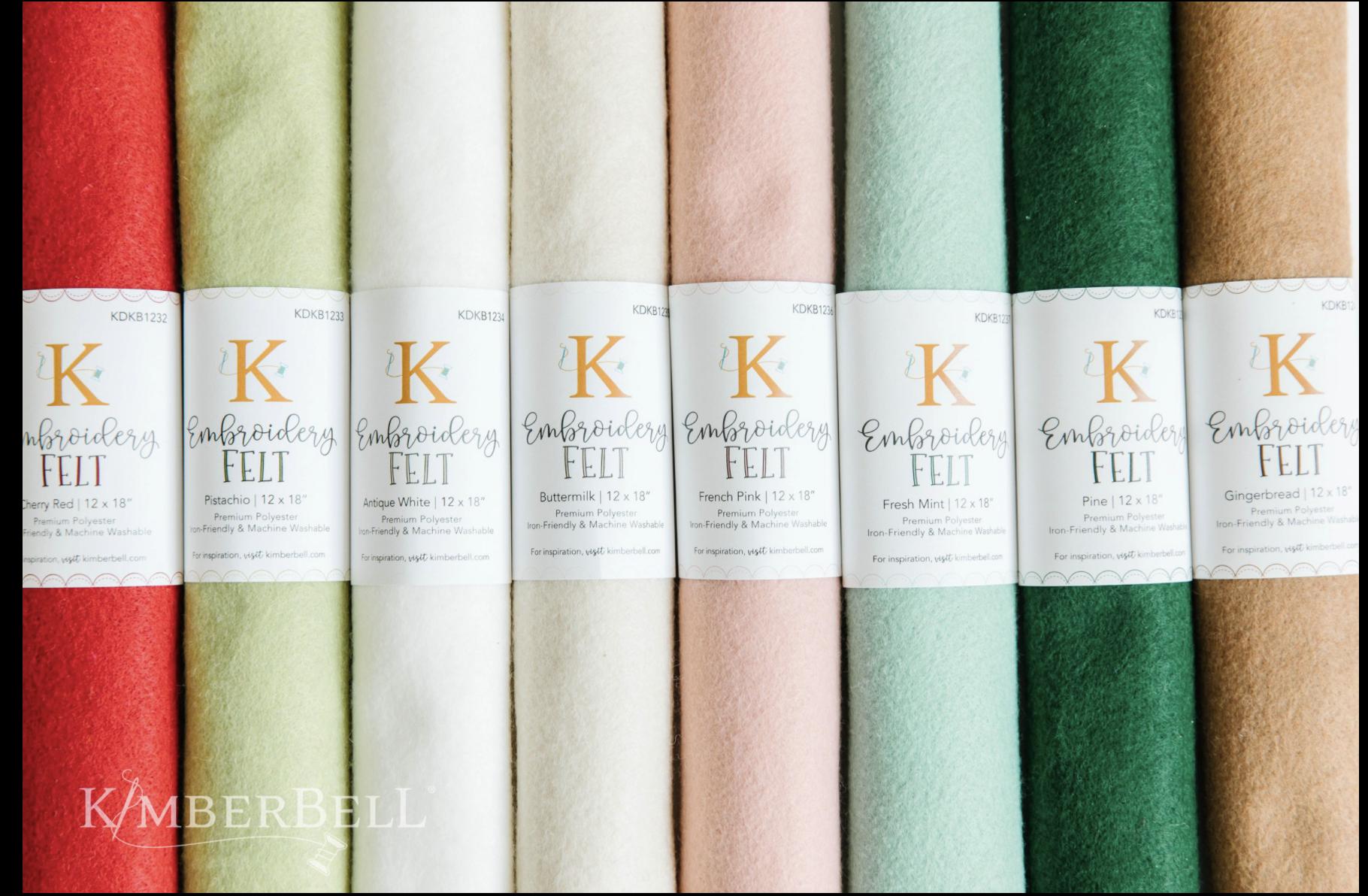 Embroidery Felt Kimberbell