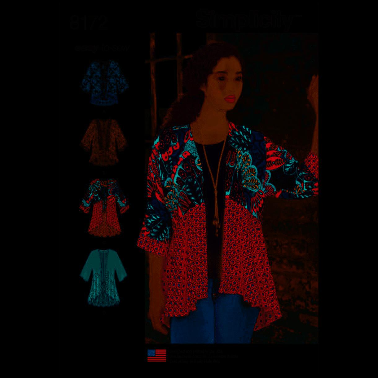 Pattern Fashion Kimono