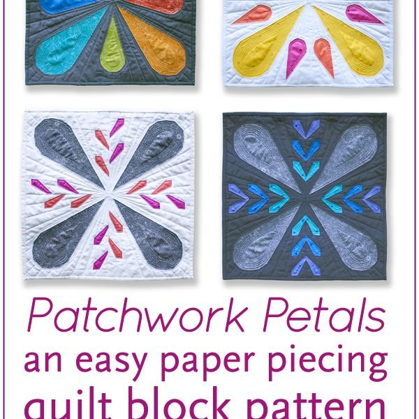 Patchwork Petals quilt blocks