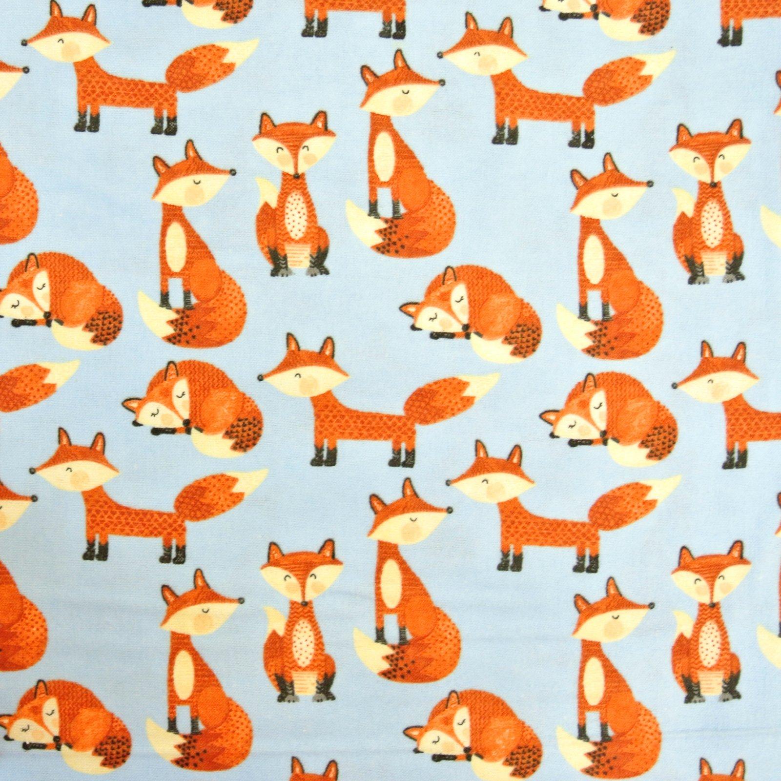 Blue Fox Comfy Flannel