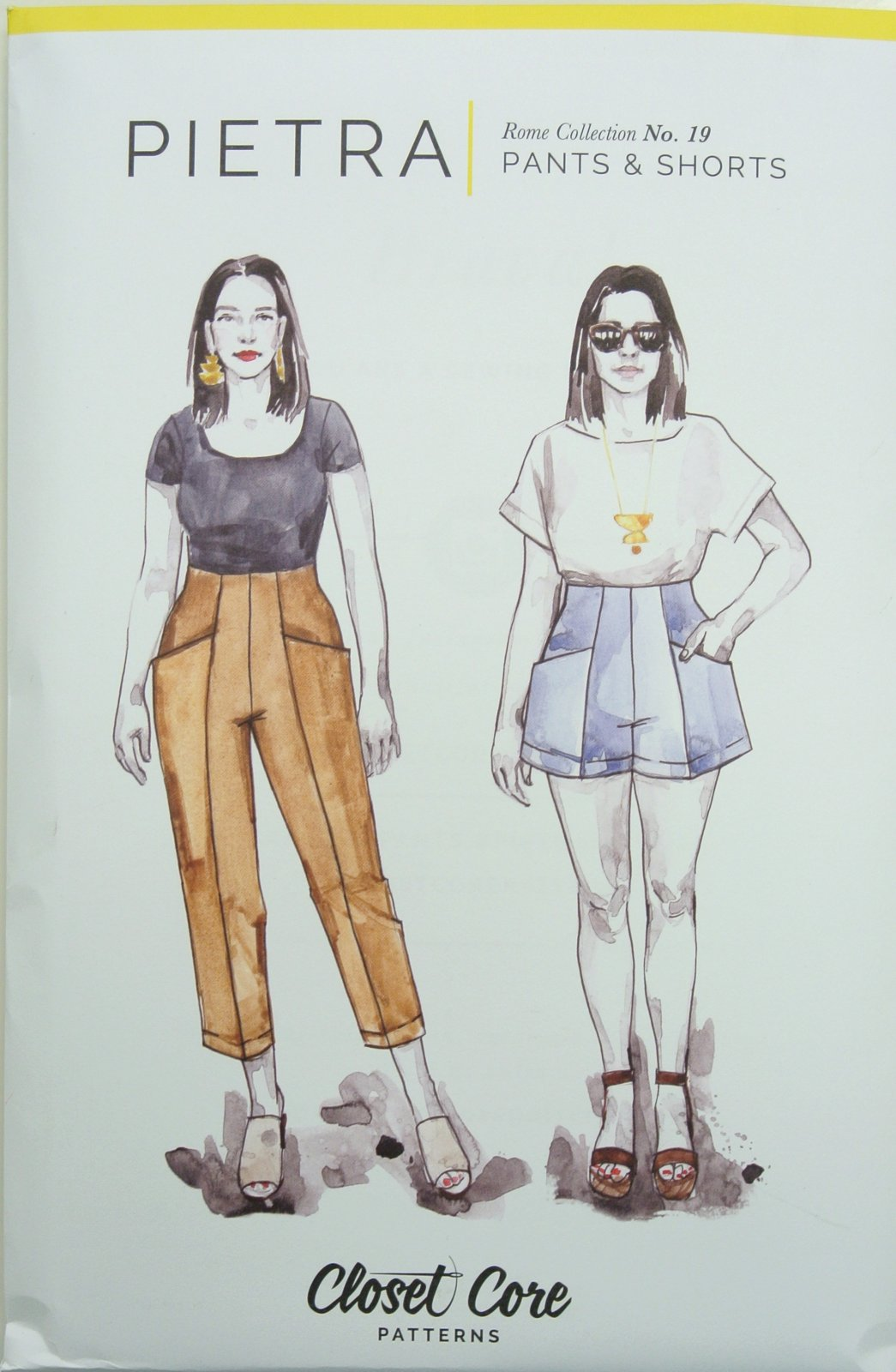 Pietra Pants and Shorts