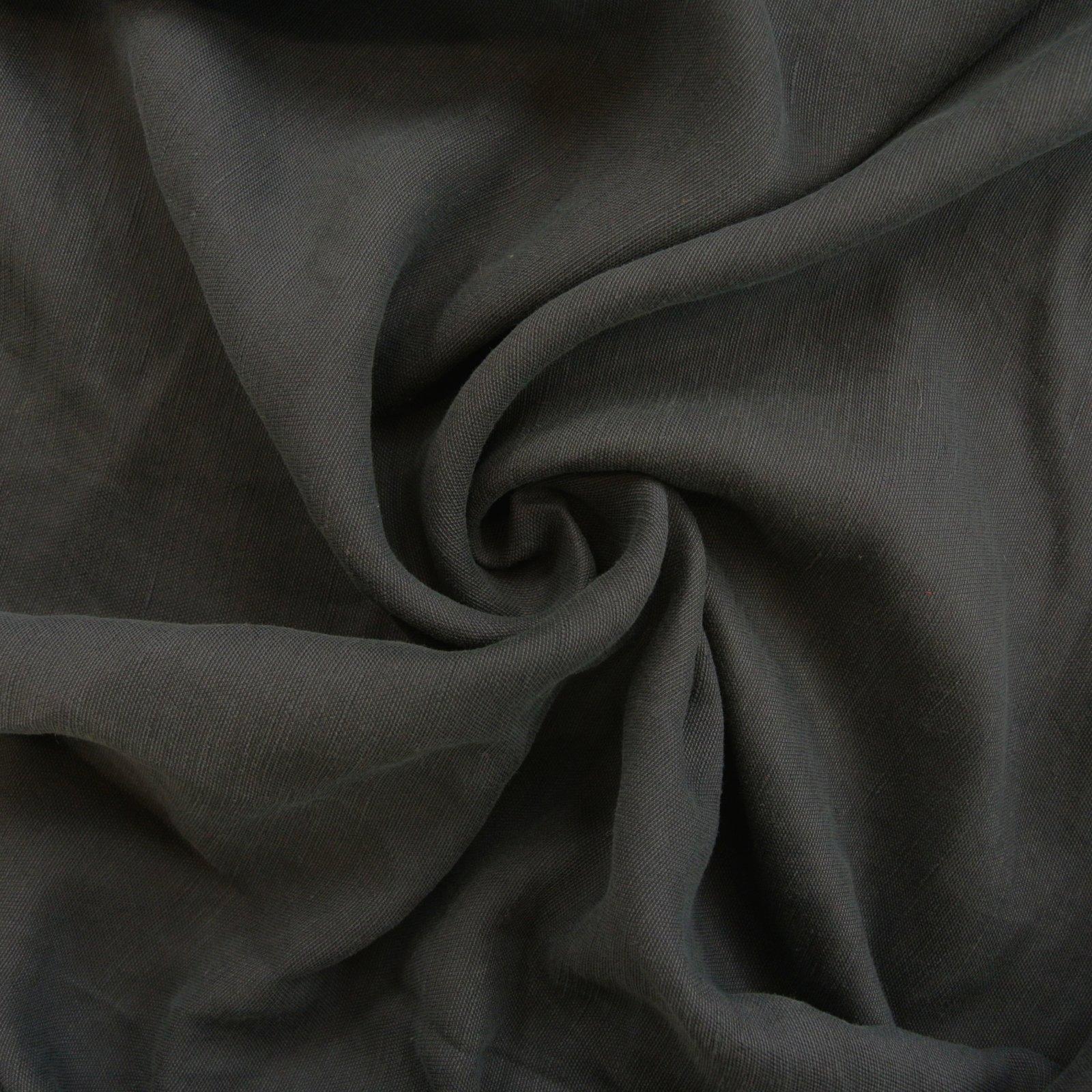 Linen blend charcoal