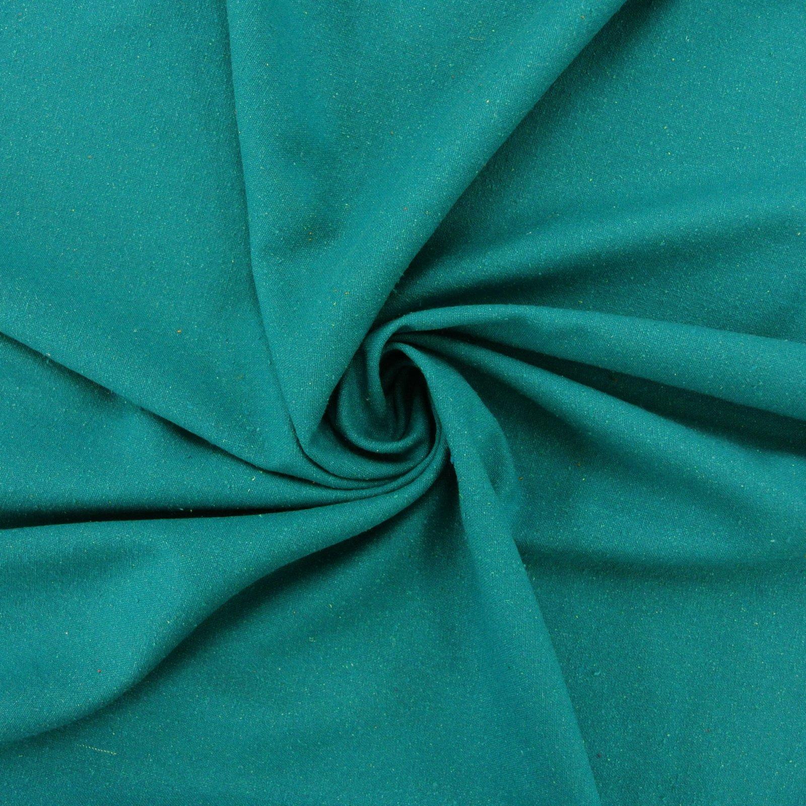 Silk Noil teal