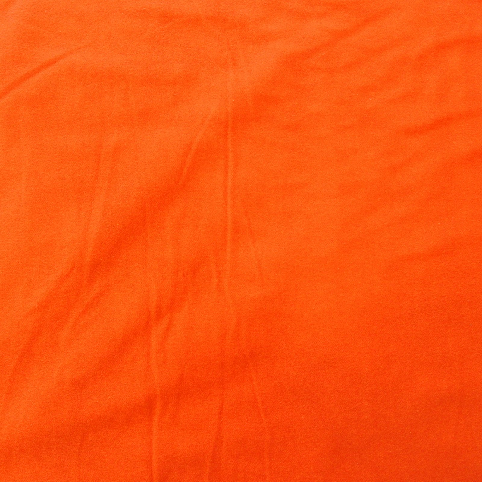 Flannel bright orange