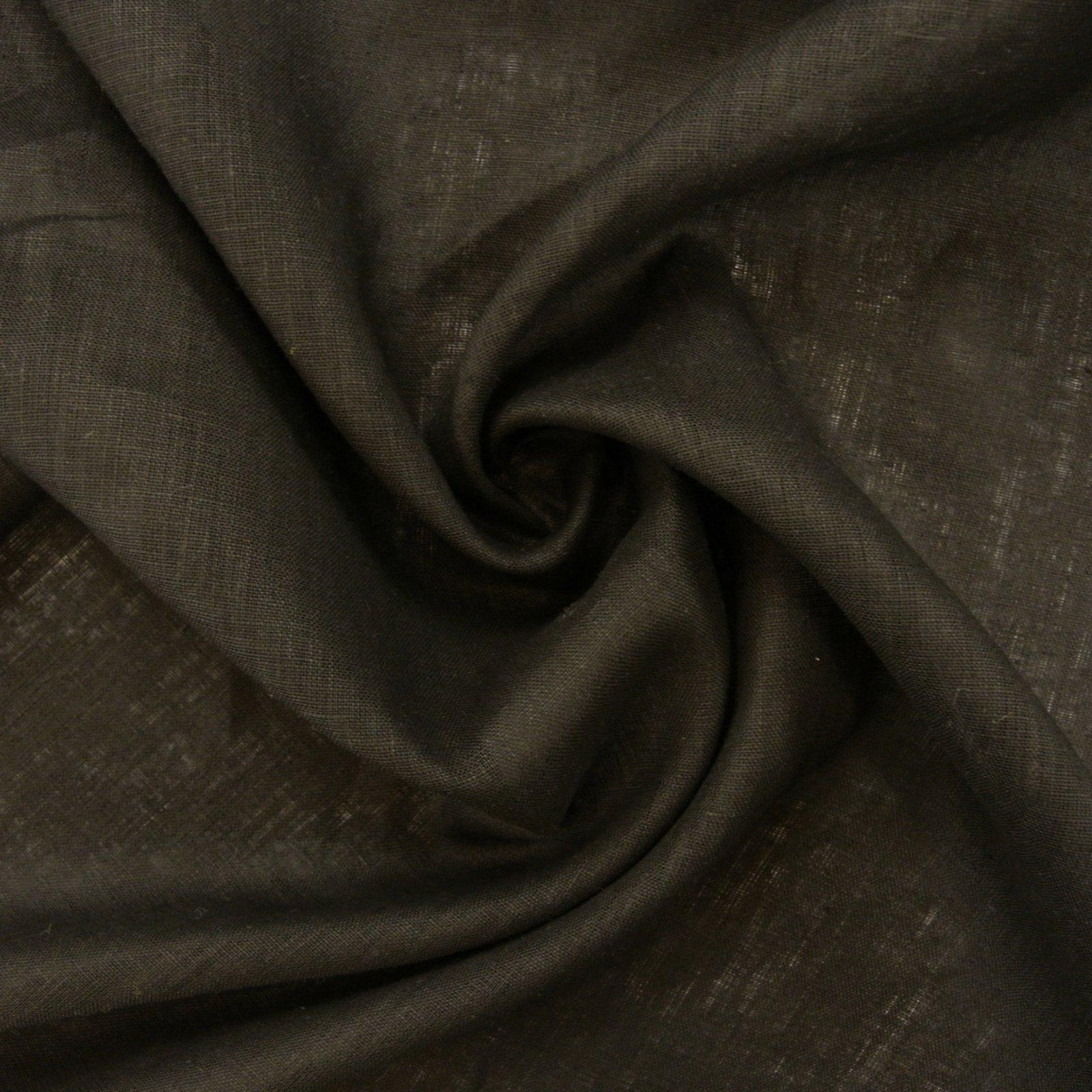 Italy's Finest Linen mid wt black