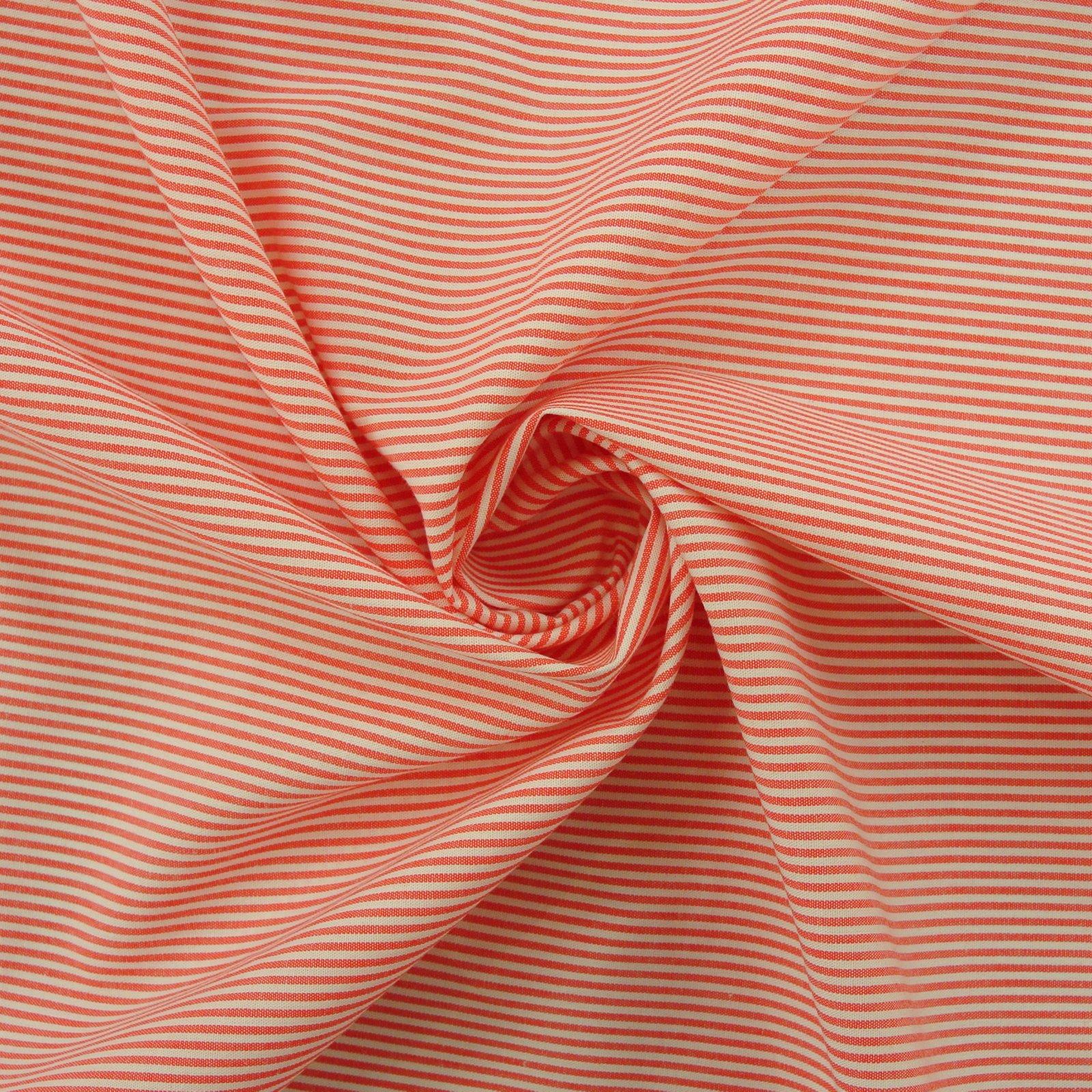 Haberdasher Stripes poppy