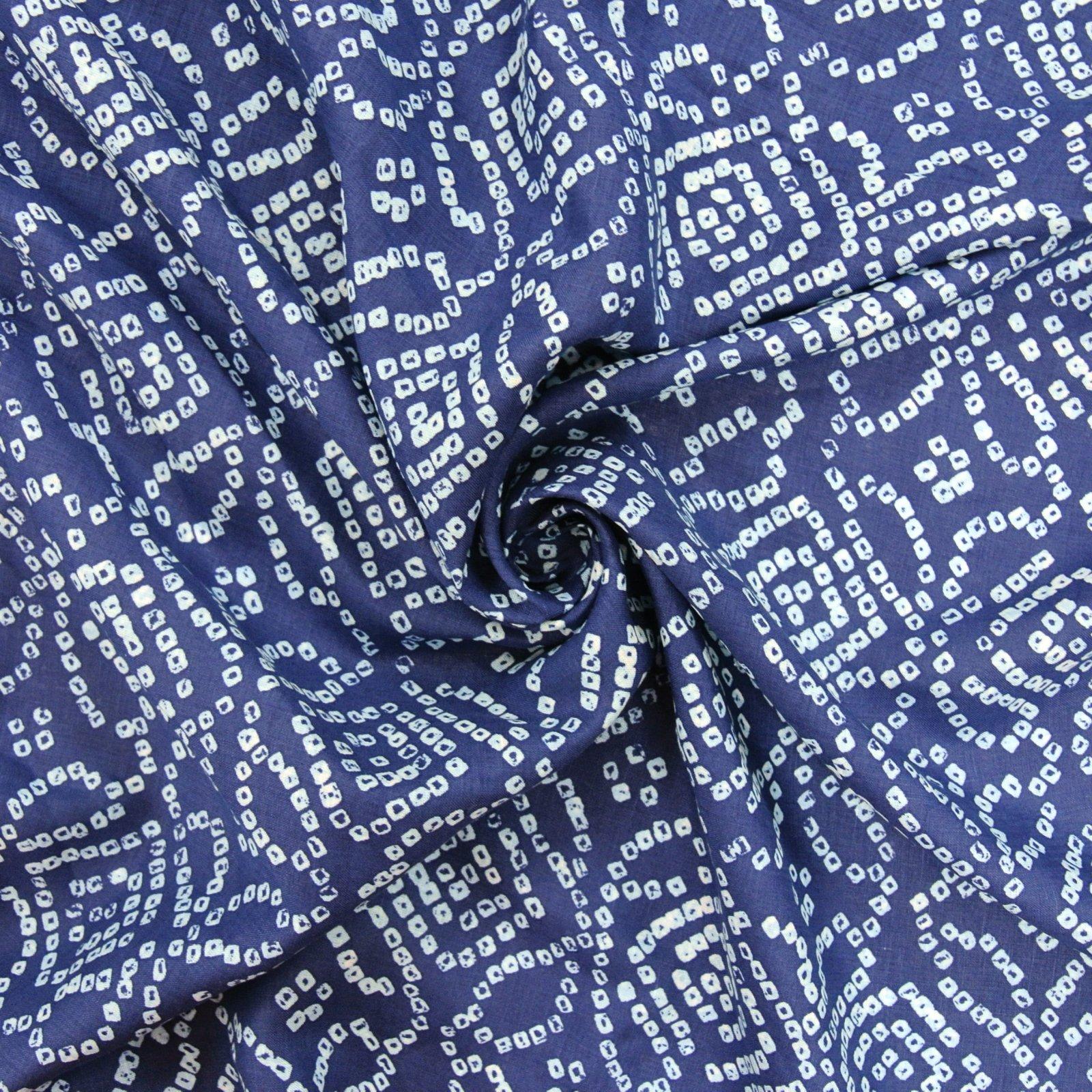 Abstract Geometric Print navy lt blue