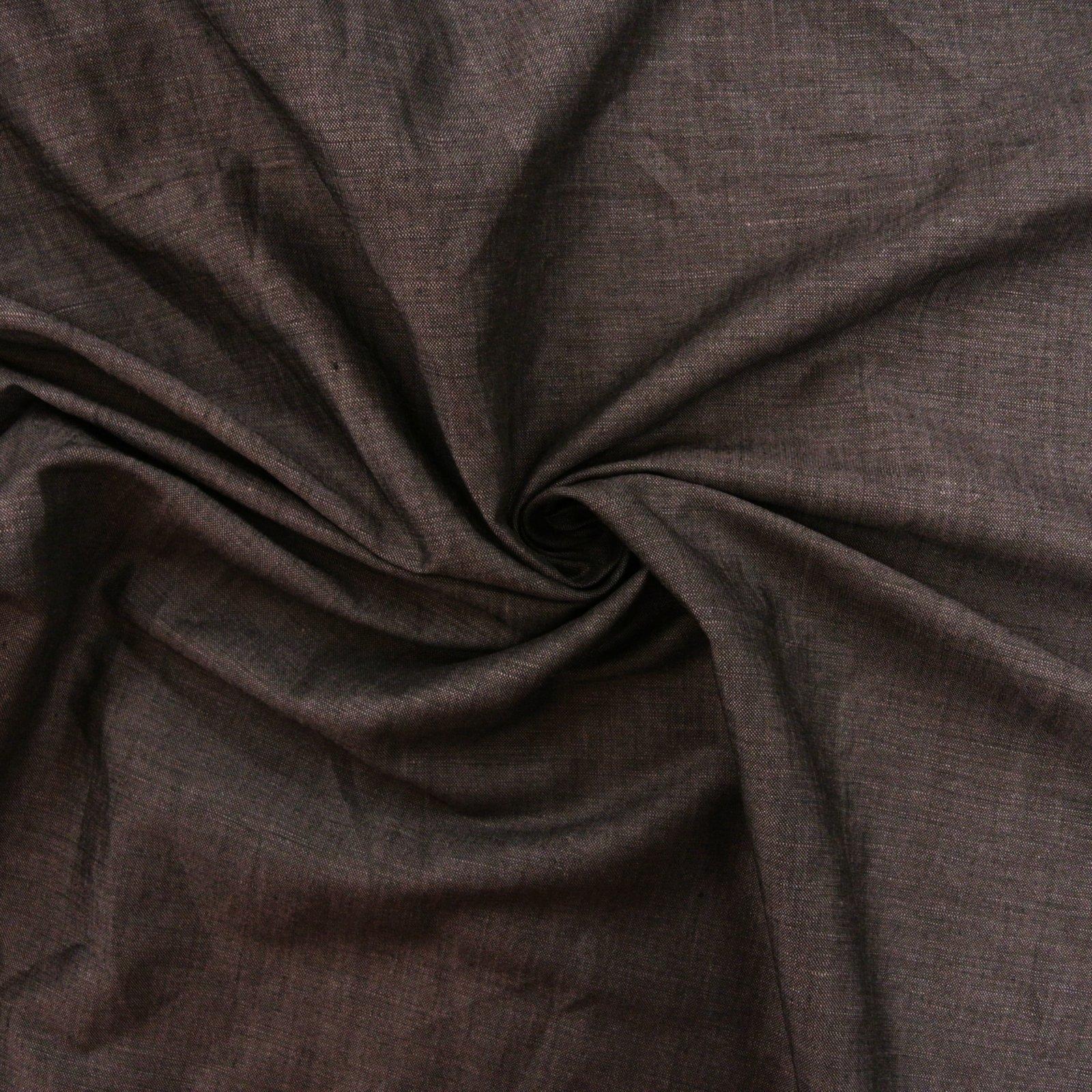 Linen Rayon Shirt Weight smokey denim blue