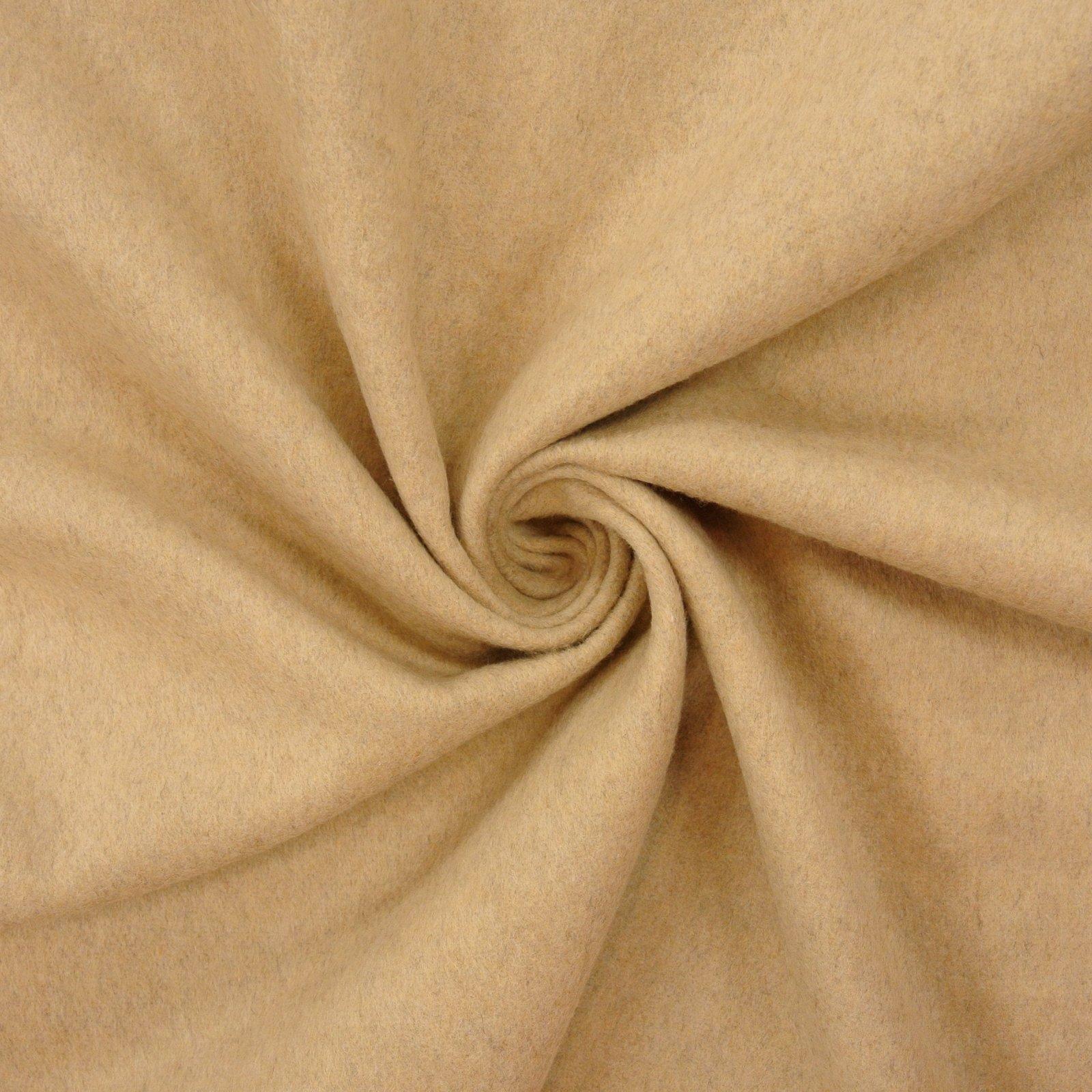 Brushed Heather Wool sand