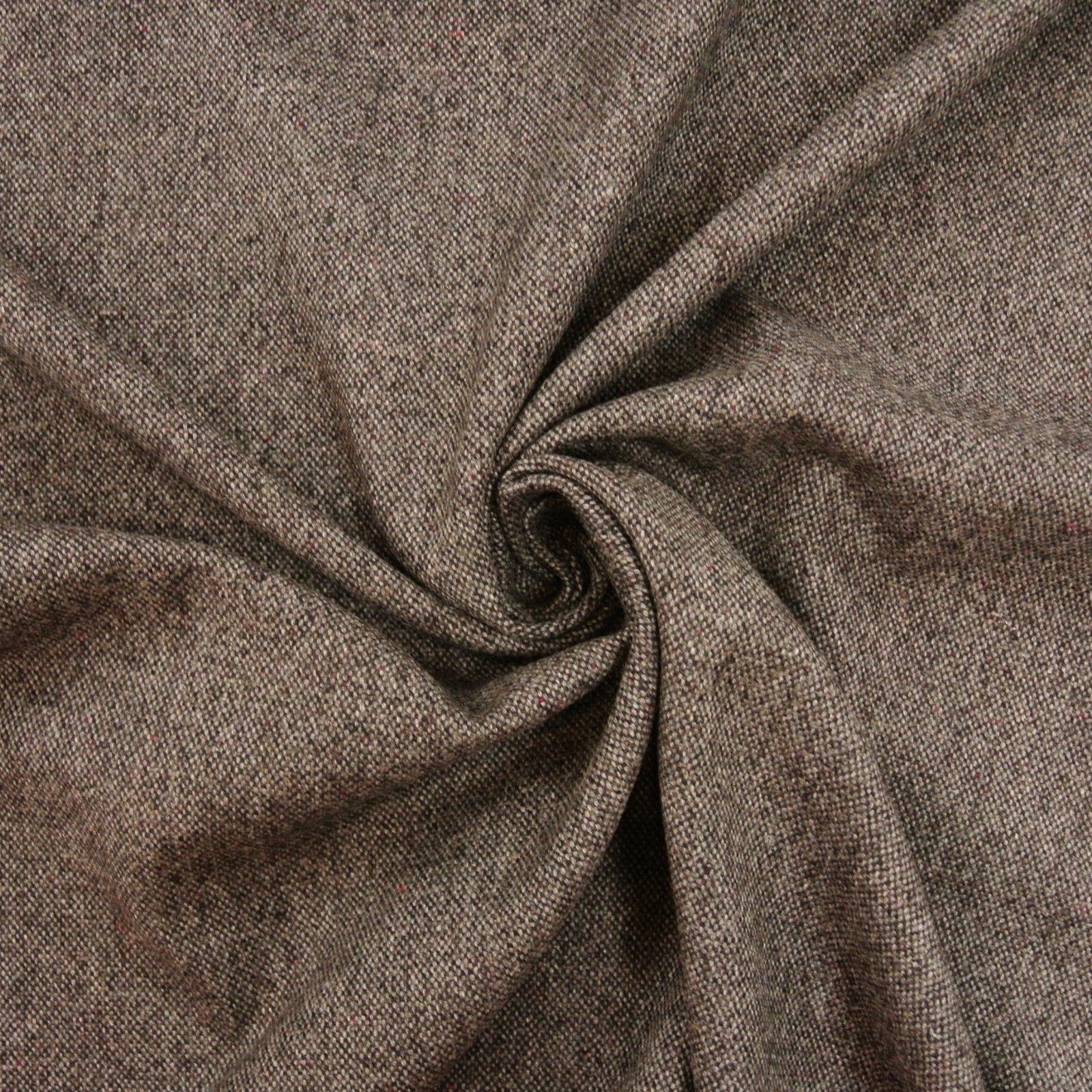 Wool Tweed charcoal
