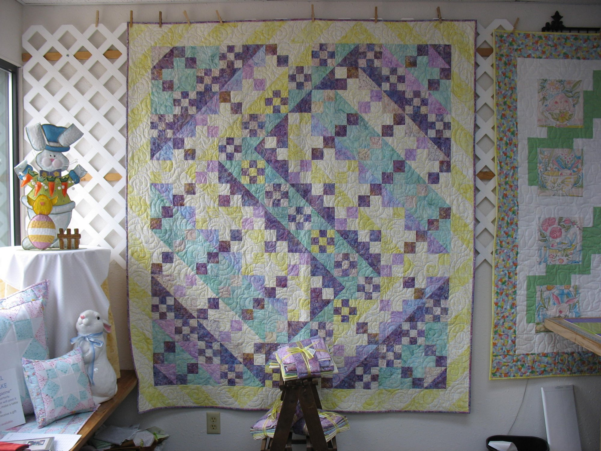 Showers & Flowers Quilt Kit now 25% off