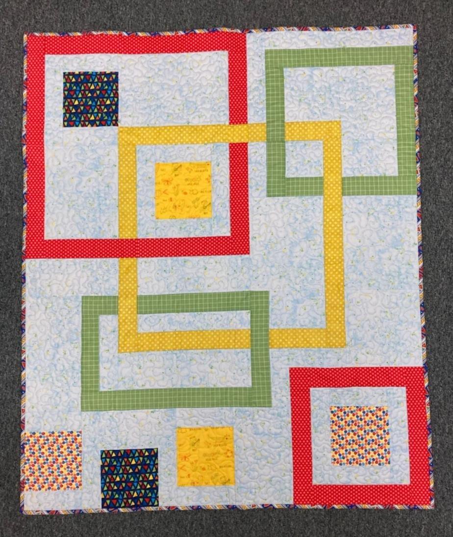 Connect Four Quilt Kit