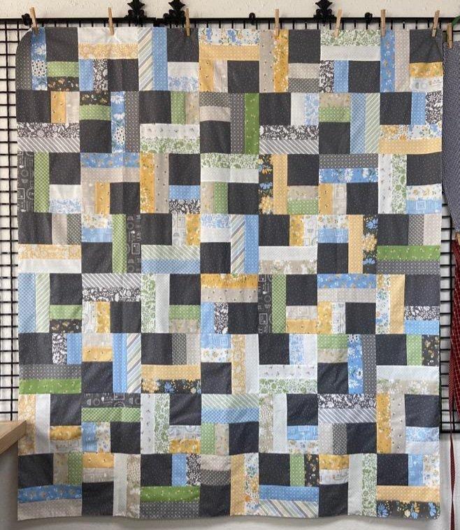 Spring Brook Twist Quilt Kit