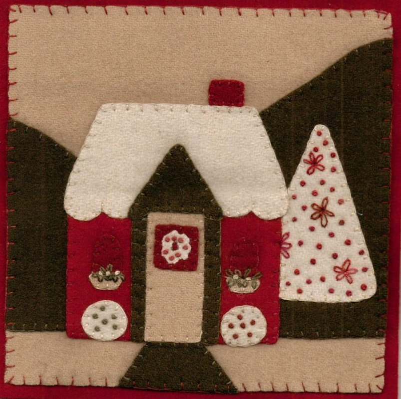 Home for the Holidays Wool Kit - FPQ 269