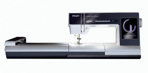 PFAFF Creative Vision w/Embroidery Unit