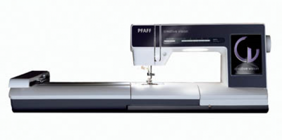 PFAFF Creative Vision w/Embroidery Unit