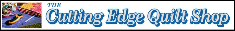 The Cutting Edge Quilt Shop Logo