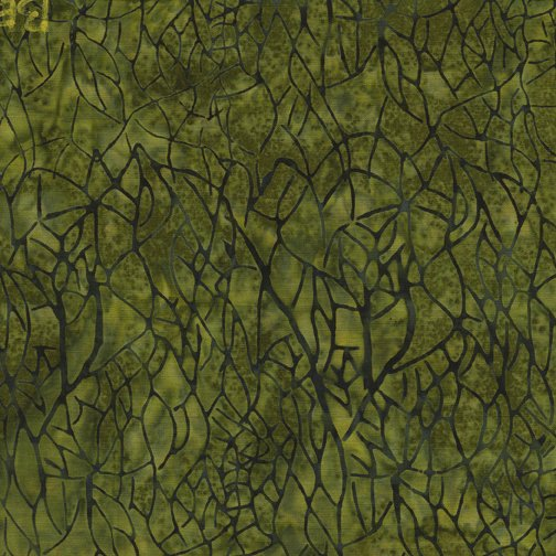 Batik Blenders - Large Netting - Ivy - BE27 - G2