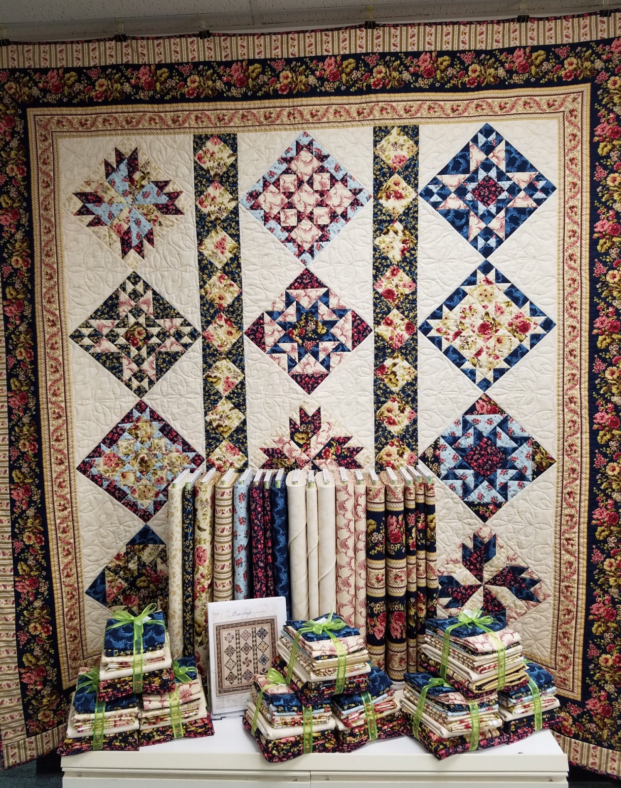 Bricolage Quilt Kit, remaining 2 kits are  -25%