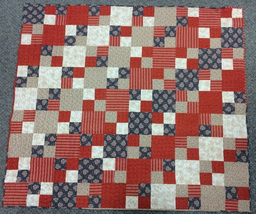 The 5 Yard Quilt featuring Mackinac Island fabrics
