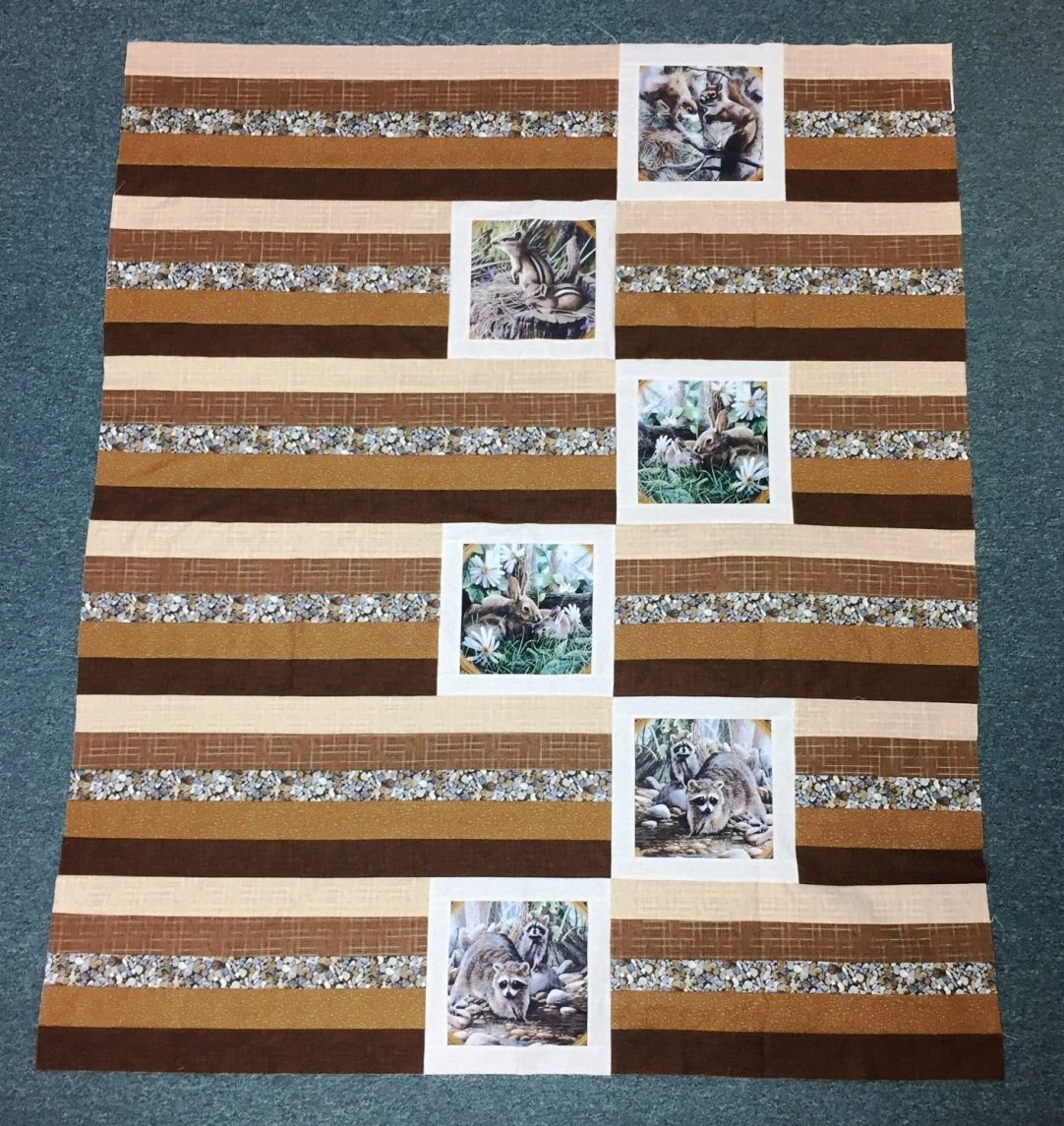 Friends of the Forest Quilt Kit