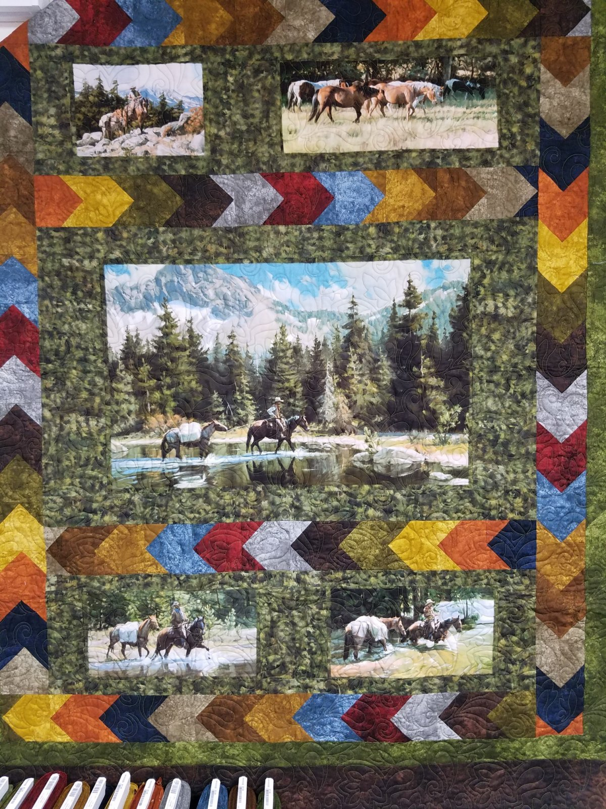 High Country Crossing Quilt Kit