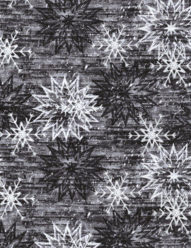 Forever Snowflake Barn JN-C3712-SMOKE