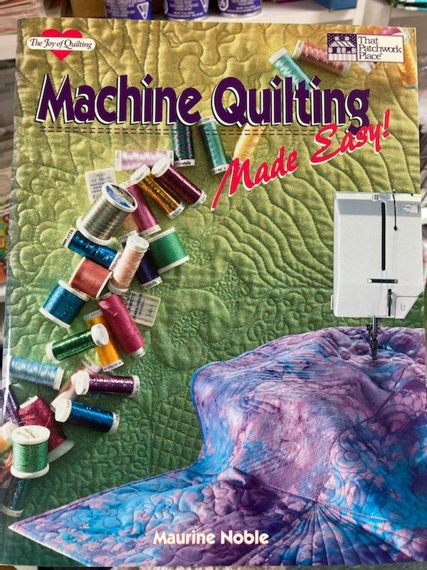 Machine Quilting Made Easy Book