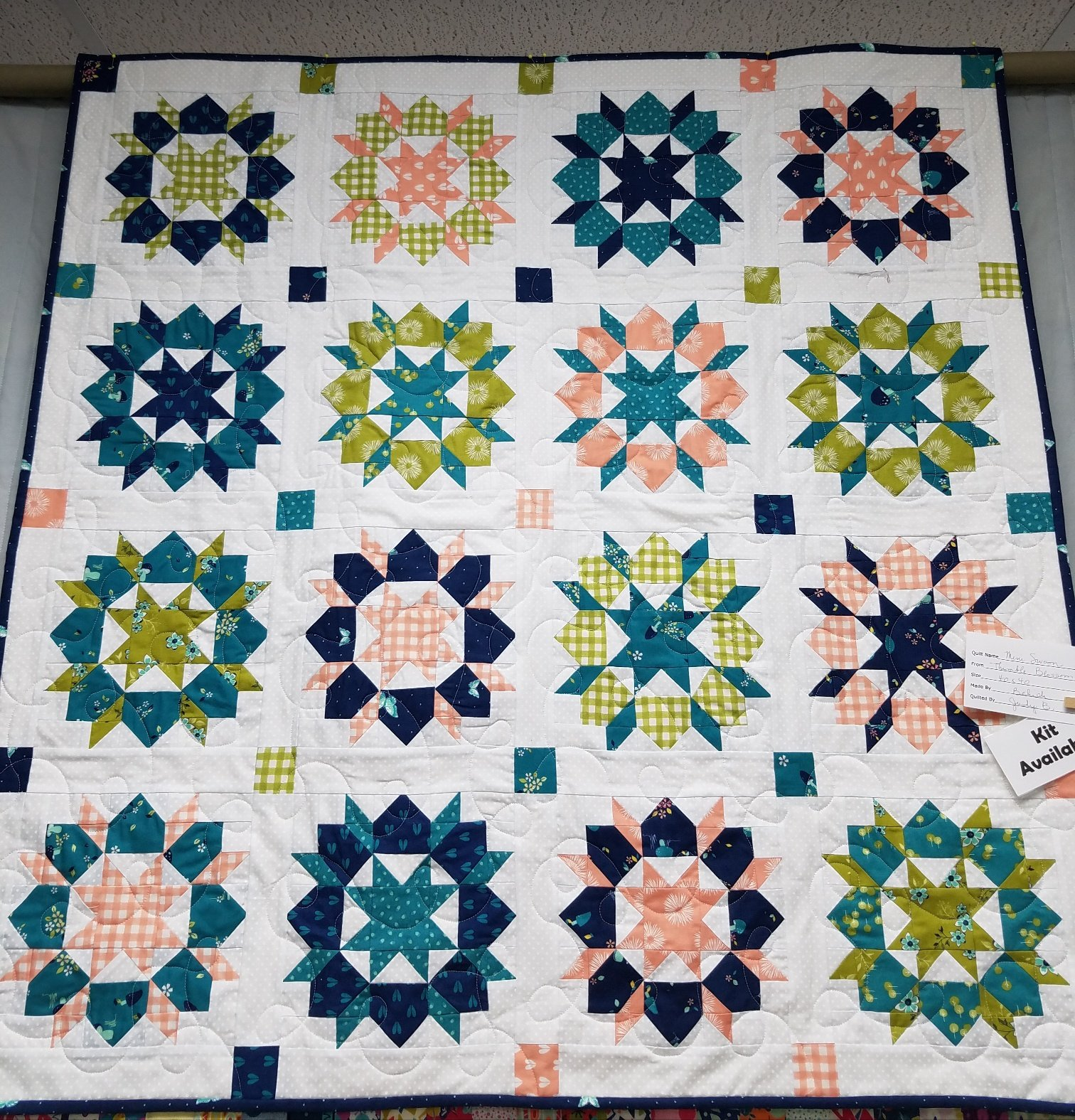 Mini Swoon Quilt Kit