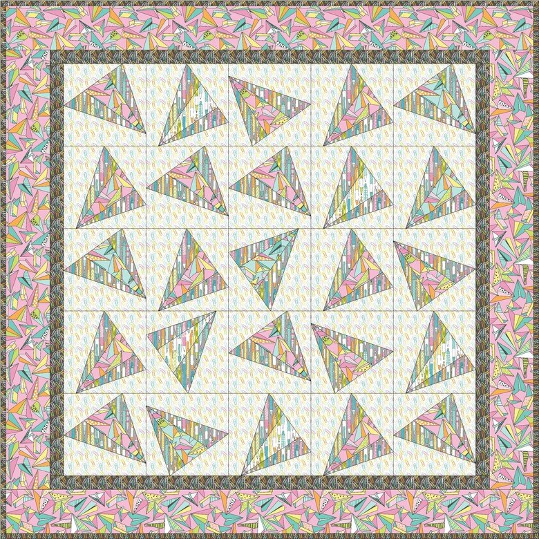 Pen & Paper Quilt Kit now 25% off