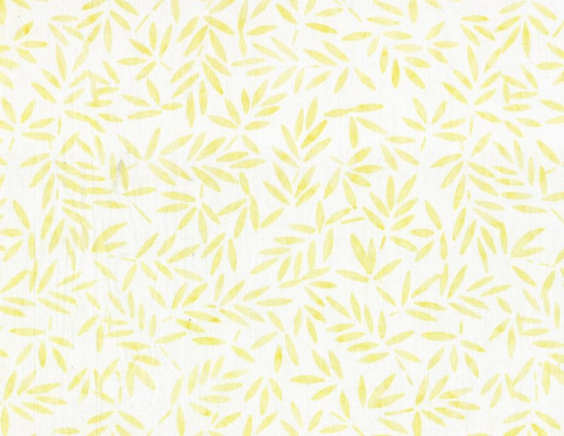 Bamboo Leaves Ivory/Yellow - 1400 22175 158
