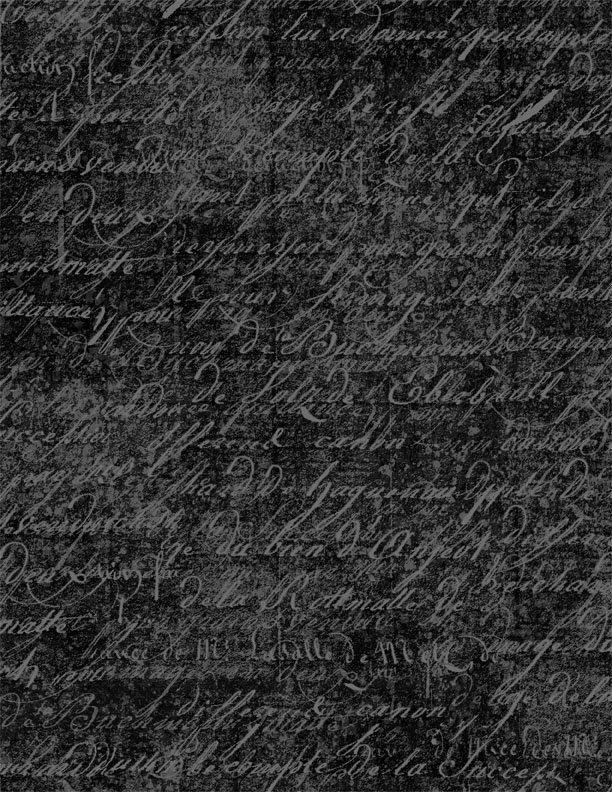 Under  A Spell - Cursive Texture Black