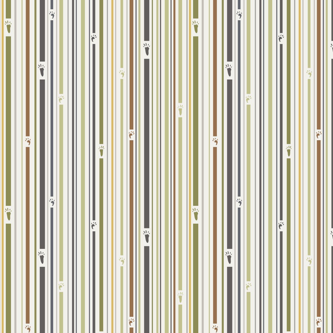 Forest Friends - 16410-2GY-Stripe