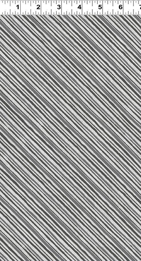 Diagonal Stripe Gray - Y2751 - 6