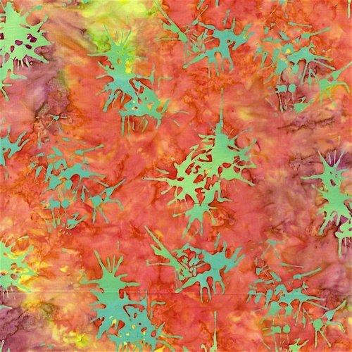 Blossom Batiks Sun Conure Splatter