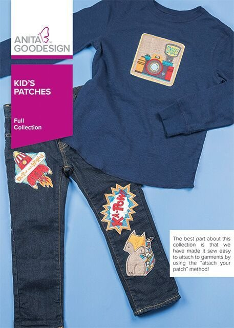 Anita Goodesign Kid's Patches