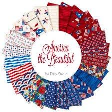 America the Beautiful FQ Bundle 24 pc
