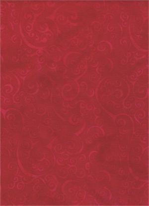 Batik Textiles I Sea Spots Red
