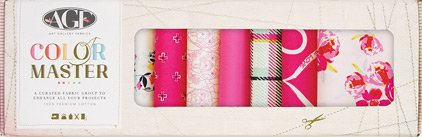 Art Gallery Color Master Fat Quarter Box Berry Valentine