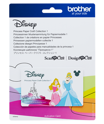 Disney Scan n Cut Princess Paper Craft Collection 1