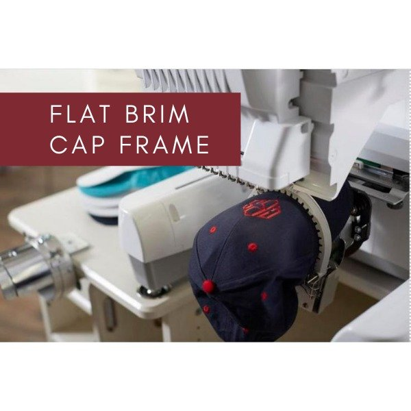 Brother Larger Embroidery Area, Flat Brim Cap Frame Set