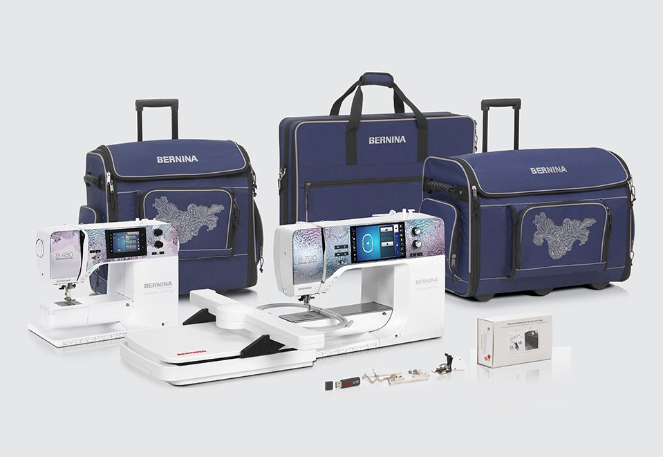 Bernina 790 SE - Flourish 2020 Special Edition
