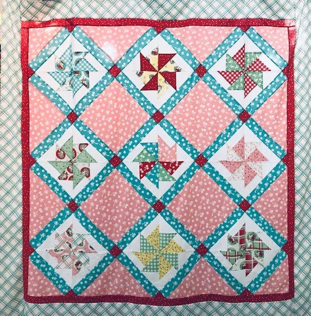 Peppermint Shoppe 67 x 67 Quilt Kit