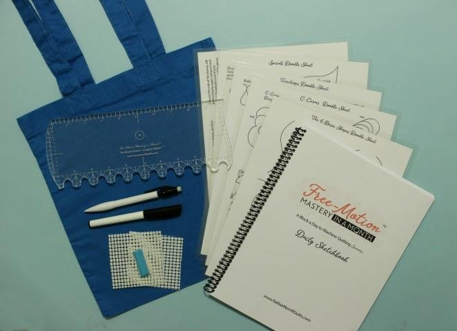 Free-Motion Mastery Tool Kit with Longarm size Master Trainer