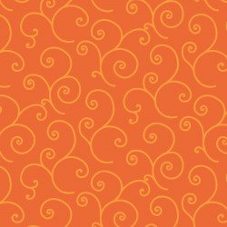Kimberbell Swirls Orange