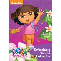 Dora the Explorer Embroidery Design Collection