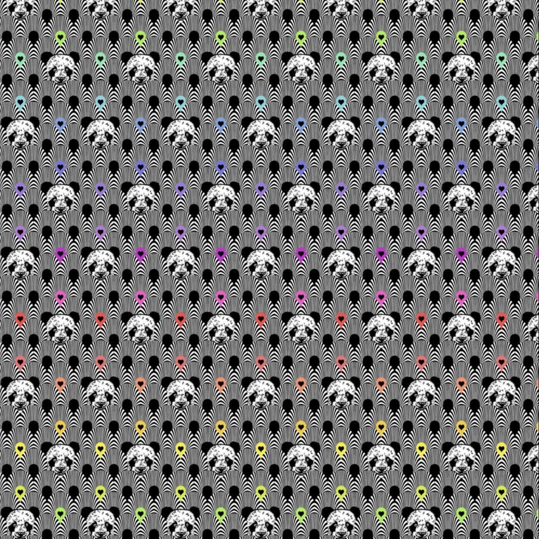 Linework Pandanomium Ink - Tula Pink