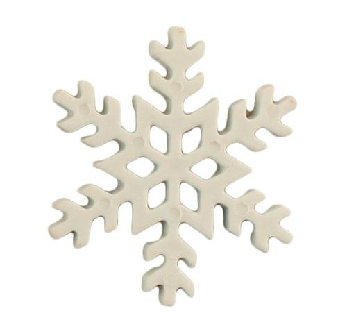 Snowflake Buttons 3 pk 7/8